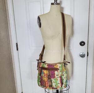🖤Fossil Canvas Crossbody Bag 🖤